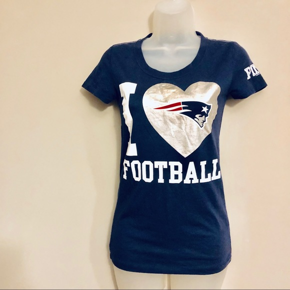 VS PINK NFL New England Patriots T-shirt XS 6b11e4080